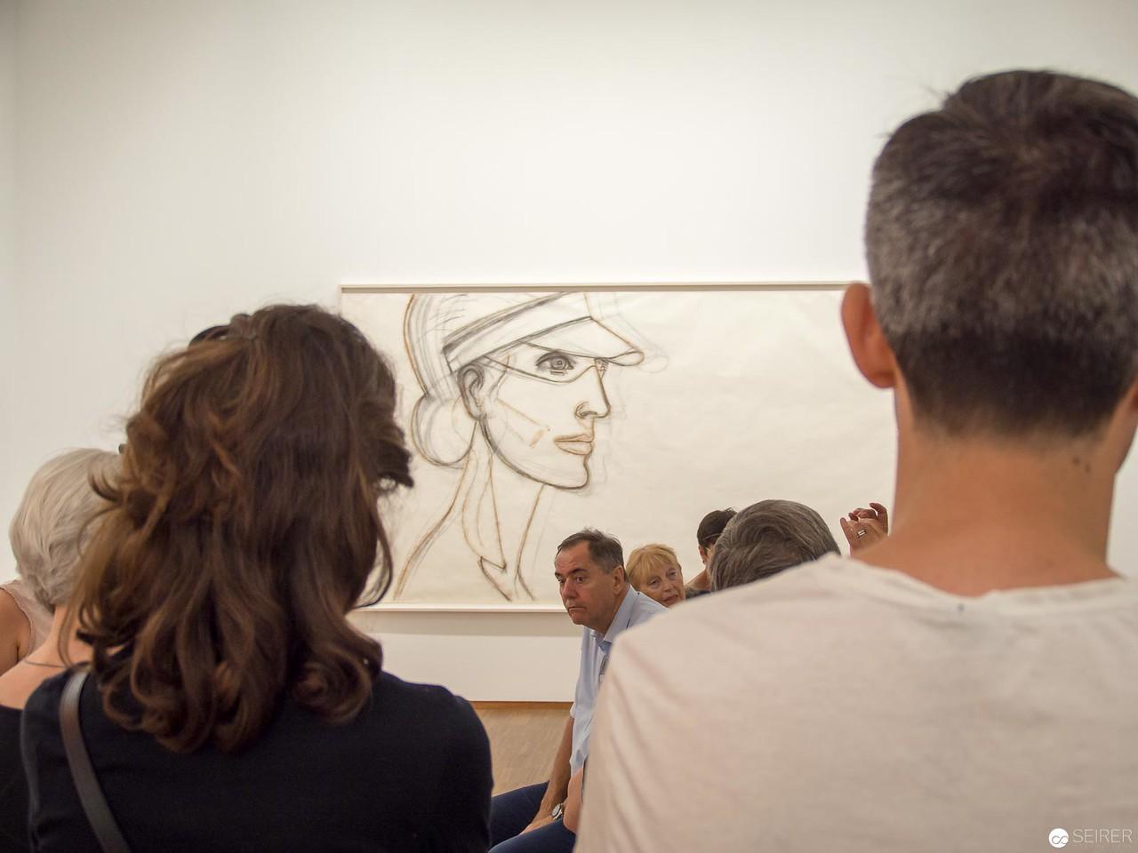 """Alex Katz - Albertina """"LOOK! New Acquisitions"""" Ausstellung"""