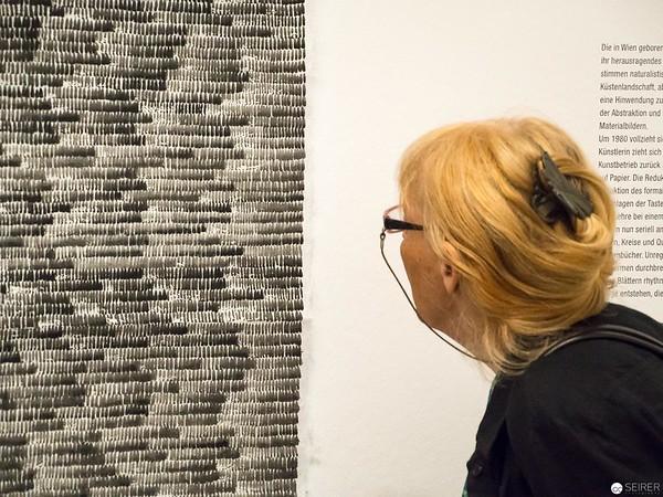 "Gerline Wurth - Albertina ""LOOK! New Acquisitions"" Ausstellung"