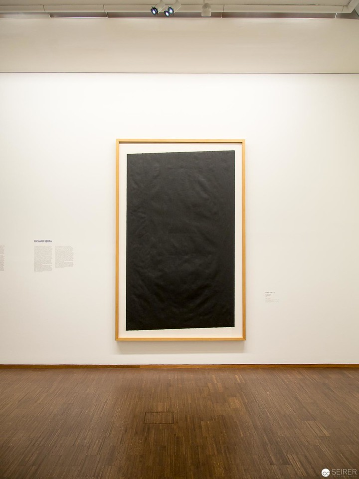 "Richard Serra - Albertina ""LOOK! New Acquisitions"" Ausstellung"