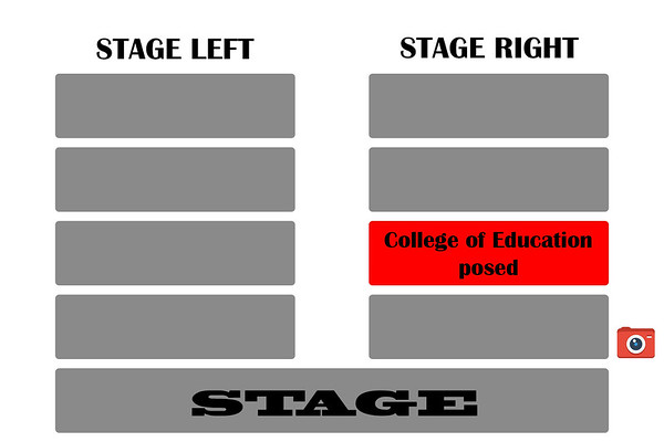 college of education posed stage right