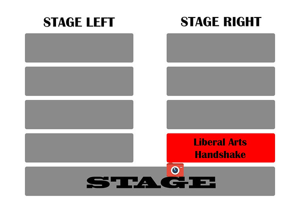 College of liberal arts stage right