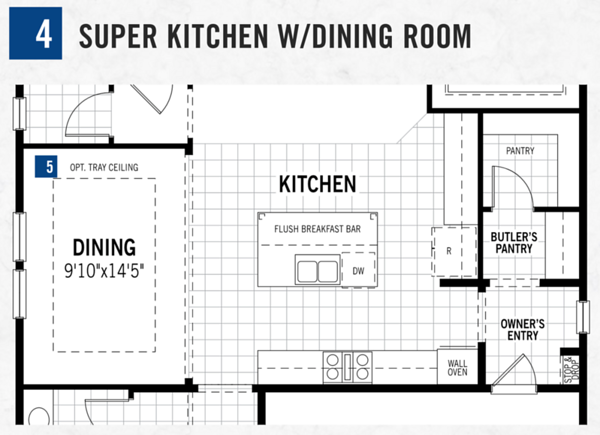 Super Kitchen w/Dining Room