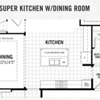 Super Kitchen w/Dining Room