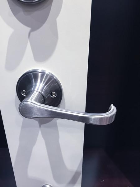 Inside View of Front Door Lock