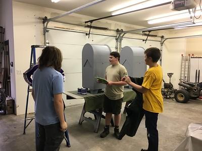 Caleb's Eagle Project - Day 2 - Nov 5