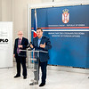 Minister Dacic and UK Ambassador Keefe