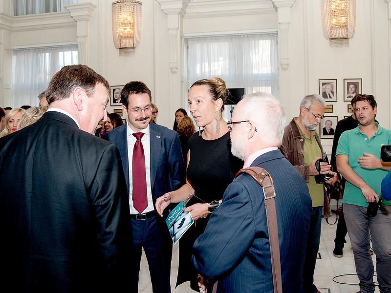 Digital Diplomacy workshop formal reception