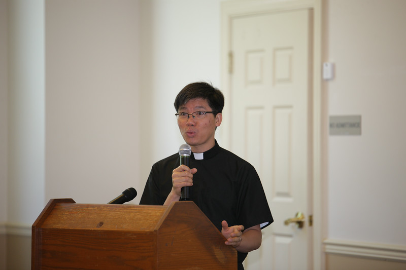Cha Hung Tran, C.Ss.R with his session on the Immaculate Heart of Mary.