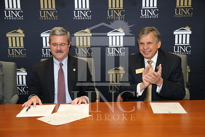 Louisburg College Signing Agreement