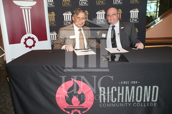 Richmond Community College Signing Agreement