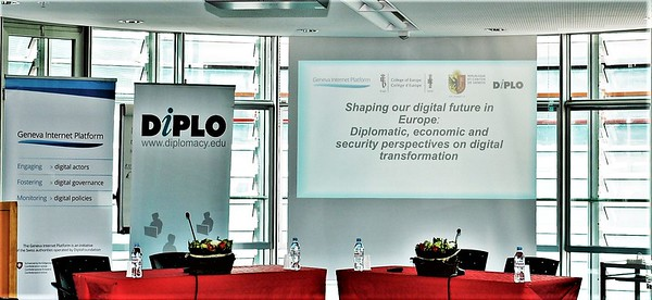 Shaping our digital future in Europe. Diplomatic, economic and security perspectives on digital transformation, March 2017