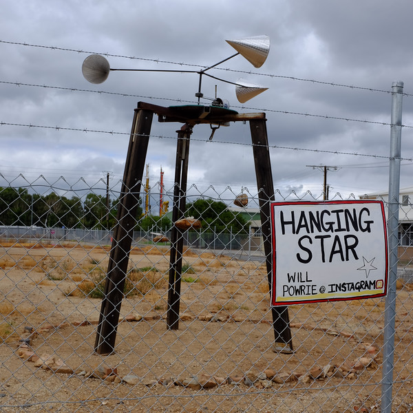 Hanging Star - Will Powrie