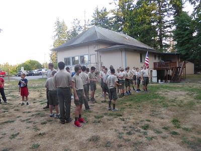 Troop Meeting - Aug 28