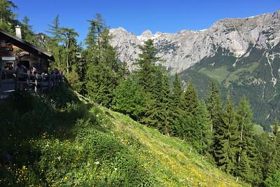Klettern bei der Blaueishütte