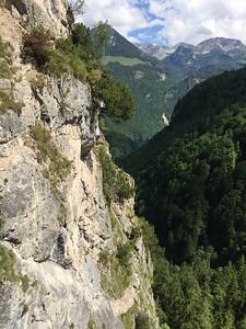 Grünstein Via Ferrata near the Königssee