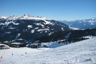 Skiing at Kitzbühel