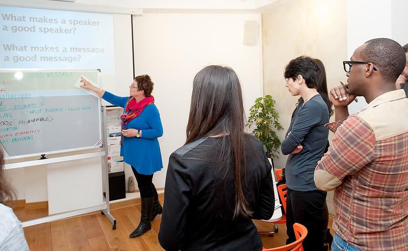 Workshop on Public Speaking, Apr 2017