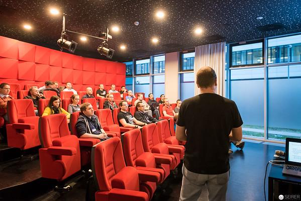 Stefan Köll beim Azure, PowerShell und System Center User Group Event bei Microsoft Österreich