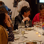 Michael Gross, Marcia Mishaan AVENUE MAGAZINE Presents the SALON DINNER & CONVERSATION about PUBLIC ART Featuring YVONNE FORCE VILLAREAL 10 Hudson Yards NYC, USA - 2017.04.06 Credit: Lukas G ...