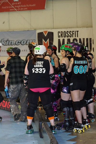 2017/04/22 - Rose City Rollers Scrimmage