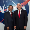 Vice President Mike Pence visits Kennedy Space Center