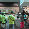 Briefing by WWF Sarawak Alicia Ng on Day 1.