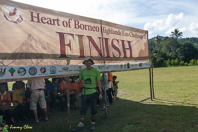 First leg of the challenge at Puneng Trusan.