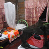 Homestay room. I and Henry brought our own mosquito nets.