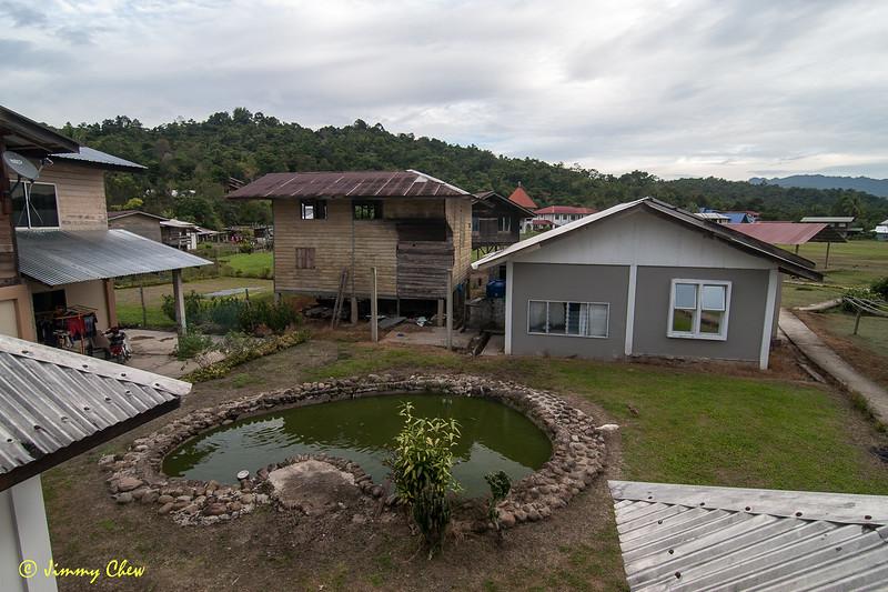 The homestay at Long Tanid.