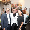 Paul Bologna, Michael Tebano, Florence Eng<br /> The Zweben Team at Douglas Elliman hosts a launch party at 73 Bleecker with AVENUE Magazine and Tourneau<br /> New York, NY - 2017.08.01<br /> Credit: J Grassi