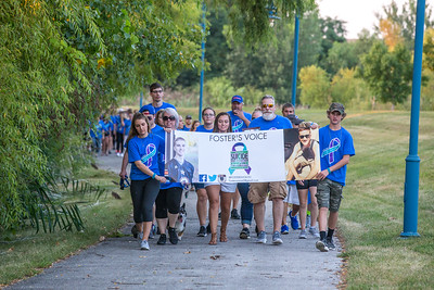 Foster's Voice Suicide Prevention Walk