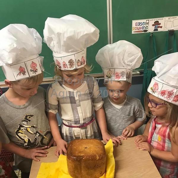 pre baking bread