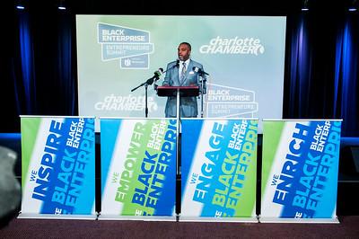 Black Enterprise Announcement of 23rd Annual Entrepreneurs Summit Host City Charlotte NC 1-30-18 @ The Park by Jon Strayhorn