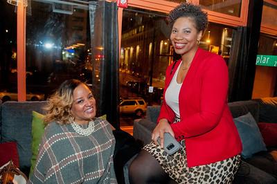 Black Women In PR Happy Hour @ Loft & Cellar 1-31-18 Jon Strayhorn