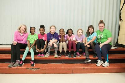 Girls On The Run Press Conference @ Woodhill Elementary 3-19-18 by Jon Strayhorn
