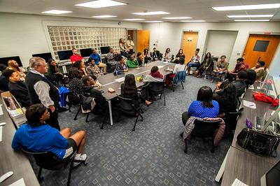 JCSU Alumni Communication Panel Moderated by Sincerely A Ward 10- 27-18 by Jon Strayhorn