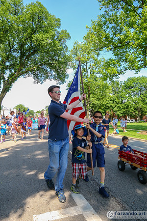 Memorial Day Observance - Hinsdale, Illinois