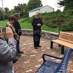 fr bolger blessing of class of 1978 bench donation . 10.2.18