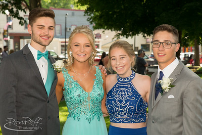 2018 Akron High School Prom.