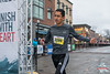 The Bentonville Half Marathon 5k finisher came in strong at the Bentonville Square despite the bitter cold and snow.