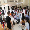 The Center for Undergraduate Research and Creative Engagement (CURCE) Fall Fair in the Campus Center Ballroom on Wednesday, October 10, 2018. (photo by Patrick Dodson)