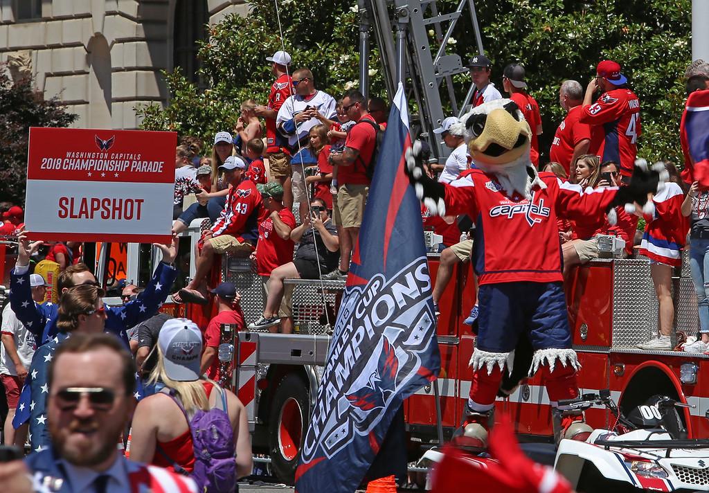 Washington Capitals Stanley Cup Celebration
