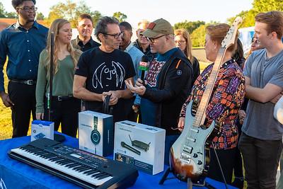 2018_10_24, Audio-Technica, Charlotte, Giveaway, K&M, NC, Neutrik, Yamaha, Brian Rothschild, Jon Wilson, Jent Tufo, Pete Milbery, names