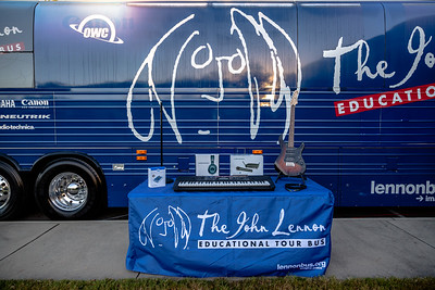 2018_10_24, Audio-Technica, Bus, Charlotte, Establishing, Exterior, Giveaway, K&M, NC, Neutrik, Yamaha