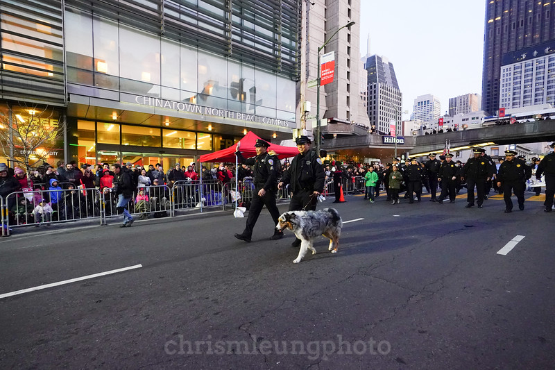 2/24/18: 2018 Chinese New Year Parade at Chinatown in San Francisco, Ca by Chris M. Leung