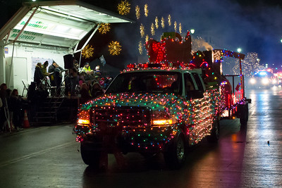 2018 Christmasville Fire Truck Parade