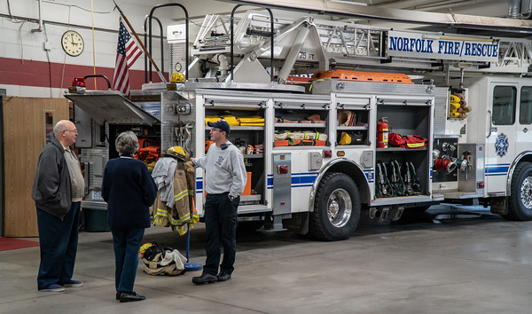 AARON BECKMAN/NORFOLK FIRE  2018-10-07  Norfolk Fire Open House