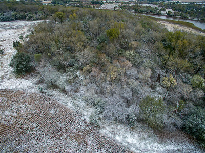 First Snow of 2018 along the Elkhorn River