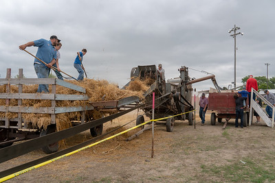 AARON BECKMAN/NEBRASKA STOCK PHOTOGRAPHY  2018-09-09  Pierce Threshing Bee
