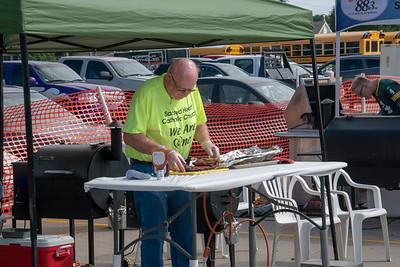"AARON BECKMAN/NEBRASKA STOCK PHOTOGRAPHY  Norfolk, NE  Sacred Heart Parish Festival & Ribfest  ""Holy Smoke"" BBQ Cook-Off."
